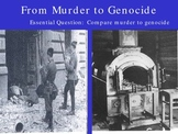 Holocaust from muder to genocide
