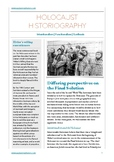 Holocaust historiography study guide