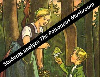 Holocaust propaganda:  Nazi Children's book activity on the Poisonous Mushroom