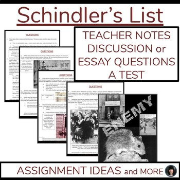 The Problem Of Evil Essay  Aligned Holocaust Studiesschindlers Listww Ii Test Essay Writing  Aligned Controversial Essays also Essay About Higher Education Oskar Schindler Teaching Resources  Teachers Pay Teachers Compare And Contrast Essay Middle School
