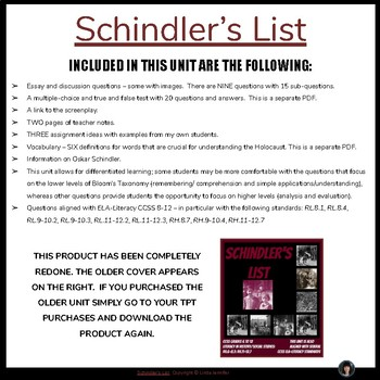 papers on schindlers list