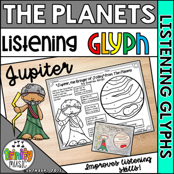 """Holst's """"Jupiter"""" from The Planets (Listening Glyph)"""
