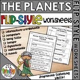 Holst's - The Planets Interactive Worksheets (Flip Style)