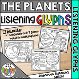 Holst's The Planets Listening Glyphs (BUNDLE)