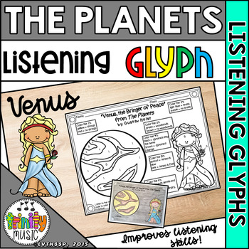 """Holst's """"Venus"""" from The Planets (Listening Glyph)"""