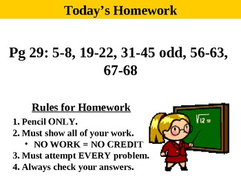 Holt Algebra 1.4 Powers and Exponents PPT