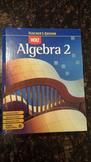 Holt Algebra 2 Teacher's Edition (ISBN 0-03-038531-8) - Like New! (EAXL)