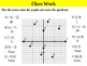 Holt Algebra 5.0 The Coordinate Plane  (not in textbook) PPT