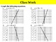 Holt Algebra 5.1A Linear Equations and Functions (y variab