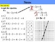 Holt Algebra 5.1B Linear Equations & Functions (y variable not isolated) PPT