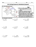 Solving Systems By Graphing Worksheet Teaching Resources Teachers