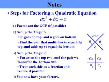 Holt Algebra 8.3 Factoring x^2 + bx + c PPT