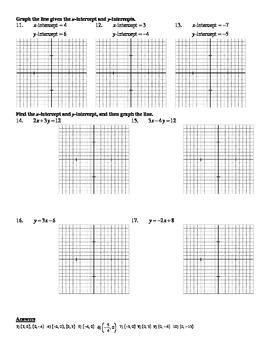 Holt Algebra Ch 5A Linear Functs Worksheet Bundle (3 Test, 2 Quiz, 11 Worksheet)