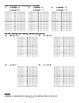 Holt Algebra Ch 5A Linear Functs Worksheet Bundle (3 Test,