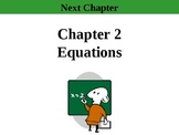 Holt Algebra Chapter 2 Complete (11 PPTs, 3 Tests, 2 Quizz