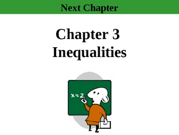 """Holt Algebra Ch 3 """"Inequalities"""" Complete (10 PPTs, 3 Tests, 2 Quiz +Worksheets)"""