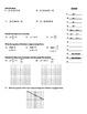 "Holt Algebra Chapter 5A ""Linear Functions"" Quiz II (5.2-5.5) - DOC & PDF"