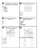 """Holt Algebra Chapter 5A """"Linear Functions"""" Test - DOC & PDF"""