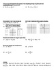 """Holt Algebra Chapter 5B """"Linear Functions"""" + Ch 4 Review Worksheet (DOC & PDF)"""