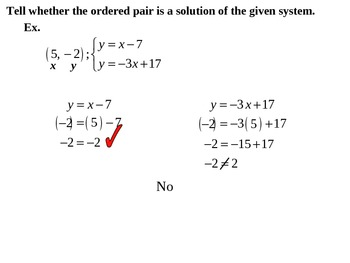 "Holt Algebra Chapter 6 ""Systems of Equations & Inequalities"" Review PowerPoint"