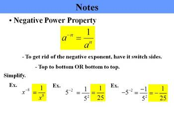 "Holt Algebra Chapter 7 ""Exponents & Polynomials"" PPT Bundle (9 PowerPoints)"