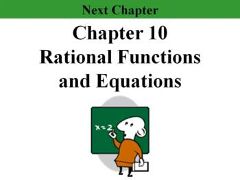Holt Algebra Chapter 9 Worksheet Bundle (3 Tests, 2 Quizzes, 6 Worksheets)