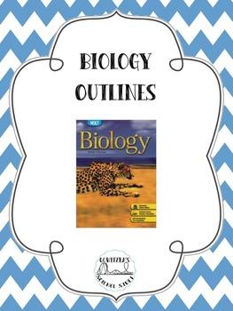 Holt Biology - Outlines