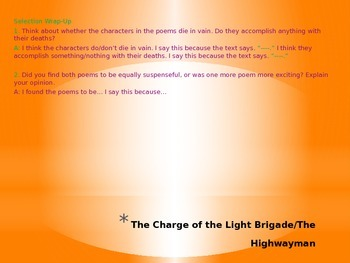 Holt McDougal Literature Grade 7 Unit 5 PowerPoint