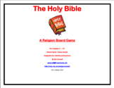 Holy Bible Board Game