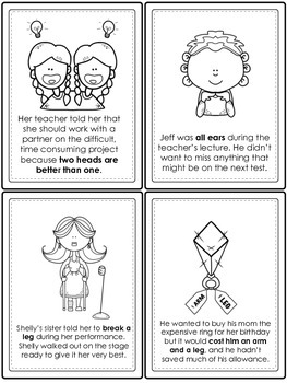 Holy Cow! Idiom Task Cards