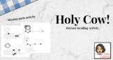 Holy Cow- partner reading comprehension activity (NO PREP)