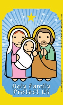 Holy Family Flash Card