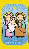 Holy Family Flash Card
