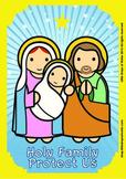 Holy Family Poster - Catholic