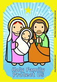 Holy Family Poster - Catholic