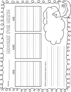 Holy Hens! A mini Math, Literacy, & Science unit all about CHICKENS!