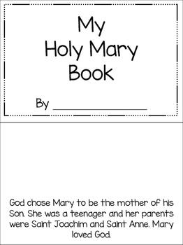 Holy Mary Book