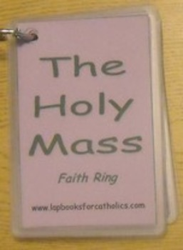 Holy Mass Faith Ring Flashcard
