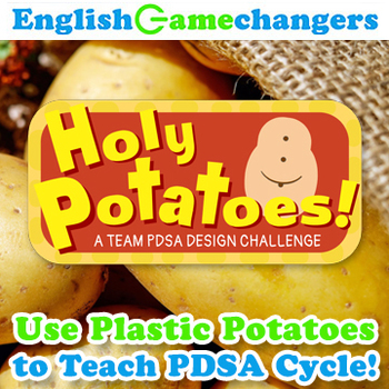 Holy Potatoes! Use Mr. Potato Head for a Marshmallow Challenge Alternative!
