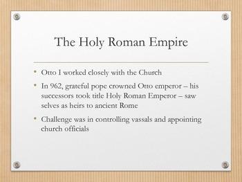 Holy Roman Empire & the Church