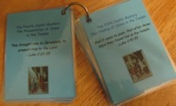 Holy Rosary Faith Ring Flashcards