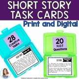 Holy Task Cards! 28 Task Cards for Any Short Story