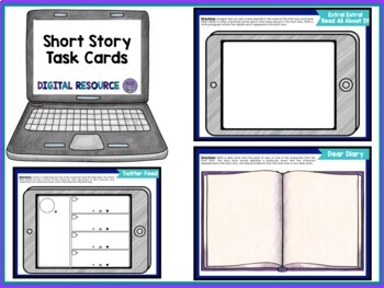 Holy Task Cards!: 28 Digital Task Cards for Any Short Story