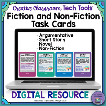 Holy Task Cards! 4: Fiction & Non-Fiction Task Cards Bundl