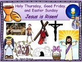 Holy Thursday, Good Friday and Easter Sunday- Catholic Interactive Book