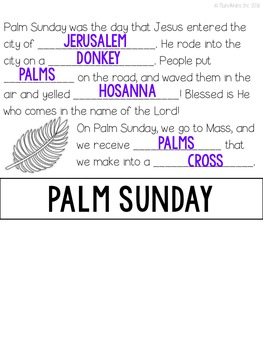 Holy Week {A Flip Book}