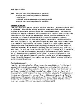 Holy Week Script