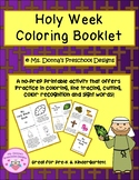 Holy Week Coloring Booklet