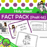 HOLY WEEK Fact Pack for EASTER  {PreK K 1st}