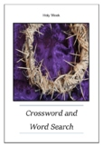 Holy Week - Crossword Puzzle and Word Search - Bell Ringer